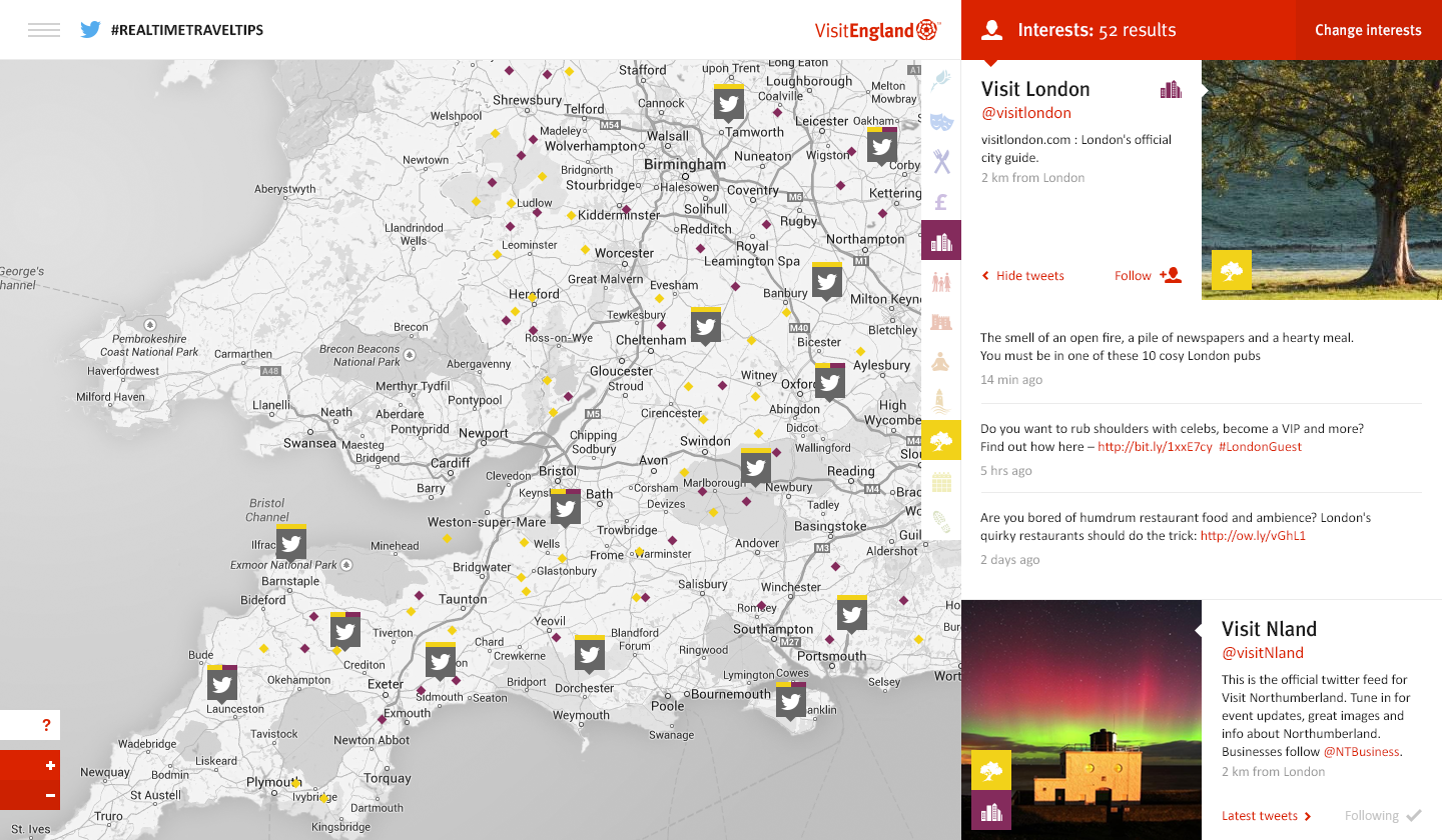 visitengland_site_20_interests_tweets_map